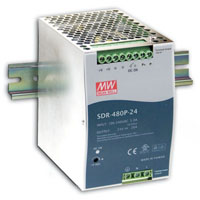 View SDR-480P-48: 480W Single Output Industrial DIN Rail with PFC and Parallel Function