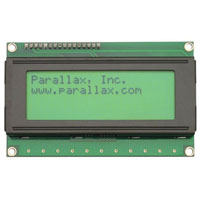 View 27979: 4 X 20 Serial LCD with Backlight Clear 4X20 Character Display