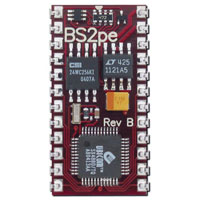 View BS2PE-IC: Basic Stamp 2PE Module Processor Speed: 8 MHz Turbo