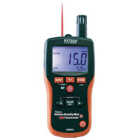 View MO290: Psychrometer Pinless Moisture Plus IR Thermometer 8 in-1