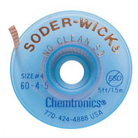 View 60-4-5: Soder-Wick® no Clean Desoldering Braid (Soldering Equipment)