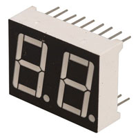 View SD-525R: 0.56 Inch High Red Common Cathode Seven Segment Display