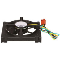 View A50933-003: Fan 12VDC .17A 80X65X25MM Socket 370 with 3PIN Conn 3WIRE