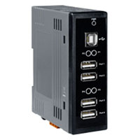 View USB-2560: 4 Port Industrial USB 2.0 Hub (Miscellaneous)