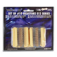 View K/RES-E12: Pack of 610 E12 Series Resistors (Assortments)