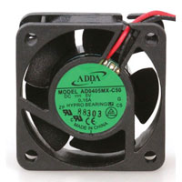 View AD0405MX-C50-LF: 5 Volt 40MM DC Brushless Tubeaxial Fan 5VDC