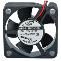 View AD0312DX-G53: 12 Volt DC Brushless Fan