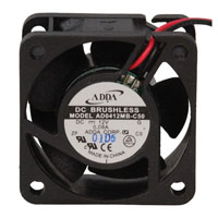 View AD0412MB-C50: 12 Volt DC Brushless Fan