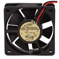 View AD0612MS-C70GL: AD 12 Volt DC Brushless Fan