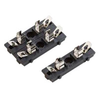 View BLC-20C: Fuse Block for 5 X 20MM Fuses Ratings: 8A, 125VAC; 8A, 250VAC