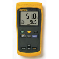 View FLUKE-52-2: Fluke 52 Series II Dual Input Digital Thermometer