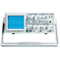 View OS-5020G: 20MHZ 2 Channel Analog Oscilloscope with Built-in Function Generator