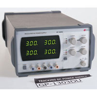 View GP-1305DU: 300W Double Output AC/DC Benchtop Power Supply