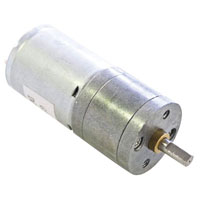 View RS003A: 75:1 Metal Gearmotor (6VDC / 133RPM)