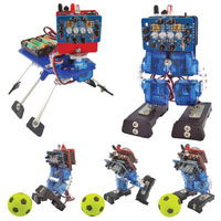 View RS014-USB: 2 in-1 Miniature Robots Kit Arduino-Compatible