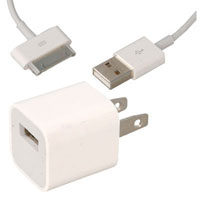 View A1265-KIT: Original USB Charger Adapter and Cable (Wall Mount)