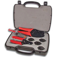 View VTBNCS: Coax Tool SET Crimping Cutting & Stripping Tool