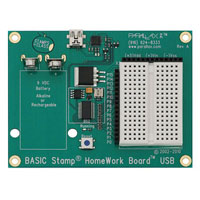 View 555-28188: Homework Board (USB) Surface-Mount Basic Stamp 2 Microcontroller