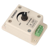 View ZDM-01: 12/24VDC LED Dimmer with Adjustable Dial (Lamps)