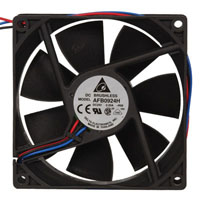 View AFB0924H-R00: 24 Volt DC Brushless Fan