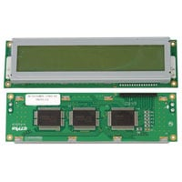 View HC20216NYU-LYVO: 20 Character X 2 Line LCD Display (Parallel)