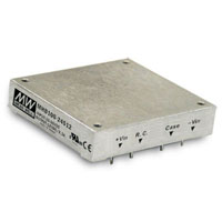 View MHB100-24S05: 100 Watt DC-DC Half-Brick Regulated Single Output Converter