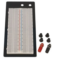 View BB-2T1D: 1360 Point Solderless Breadboard