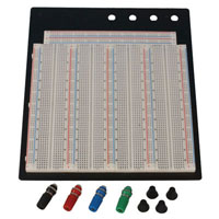 View BB-4T7D: 3220 Point Solderless Breadboard