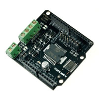 View DRI0009: 2A Motor Shield for Arduino 2 Way 7-12V Motor Drive