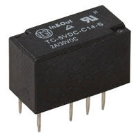 View TC-5VDC-C14: 5 Volt 2 AMP 8 PIN Double Pole Double Throw ( DPDT ) Relay
