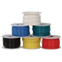 View HUWBUN100FT6: 22 AWG Solid Hook-Up Wire Bundle 100 Ft