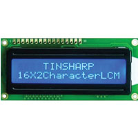 View FIT0127: Basic 16X2 Character LCD -White on Blue 5V Supply voltage:5V