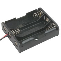 View BH-331-A-R: Battery Holder 3 AA Wires