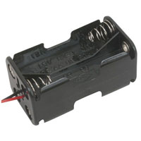 View BH-343-1A-R: Battery Holder 4 AA Wires