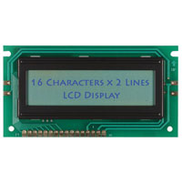 View HSM16216H-B-S90S: 16X2 Parallel Liquid Crystal Display 16 Characters X 2 Lines