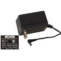 View AM-121200A: 12VAC 1200MA AC-to-AC Wall Adapter Power Supply
