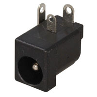 View ADC-002A-2: DC Power Jack with 2.5MM Center Pin Low Profile Design
