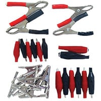 View 37128: 28 Piece Electrical Clip Kit 2 Inch Alligator Clips