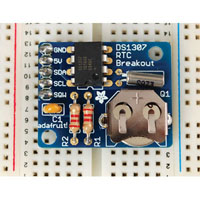 View 264: DS1307 Real Time Clock Breakout Board Kit