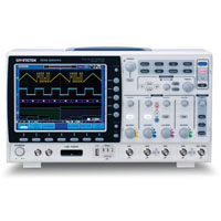View GDS-2104A: 100MHZ 4 Channel Visual Persistence Digital Storage Oscilloscope