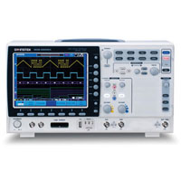 View GDS-2302A: 300MHZ 2 Channel Visual Persistence Digital Storage Oscilloscope