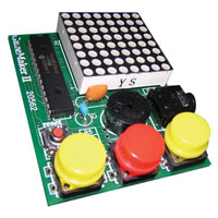 View CJKIT-20562: 8X8 LED Matrix Driver Game Soldering Iron and Solder