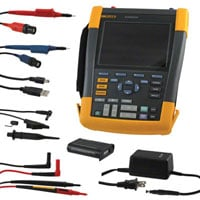 View FLUKE 190-102/AM: Portable Oscilloscope (Test & Measurement)