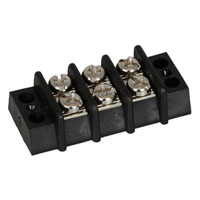 View TDA-03: 3 Position Standard Double Row Terminal Block Length: 1.79 Inch
