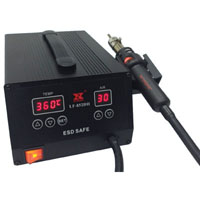 View LF-852D-II: 1000W Esd-Safe Surface Mount Rework Station