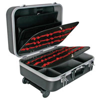 View 1819-T1: Multifunctional ABS Trolley Case 17.9 Inch X 13.2 Inch X 7.48 Inch