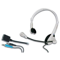 View HSMT1: Telephone and Multimedia Headset with Microphone (Headphones)