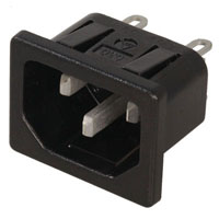 View EAC-409: Male AC Receptacle 15A 250V (Power Connectors)
