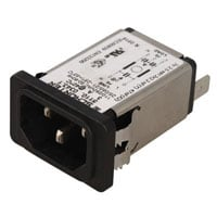 View 5110.0343.1: Power Entry Modules with Straight Power Filter Current: 3A
