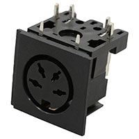 View RD4: 4 Pin STD DIN Female Socket Mounting: PC